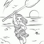 Dibujo Vaiana 1495330922
