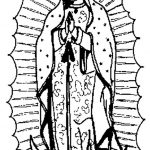 Dibujo Virgen de Guadalupe 1494433687