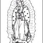 Dibujo Virgen de Guadalupe 1494433805