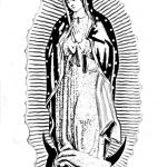 Dibujo Virgen de Guadalupe 1494433819