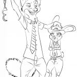 Dibujo Zootropolis 1495330671