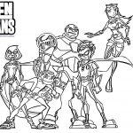 Dibujo Los jovenes titanes 1499471523