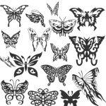 Dibujo Mariposas 1499468791
