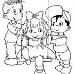 Dibujo niños jugando 1499377889