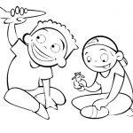 Dibujo niños jugando 1499377904
