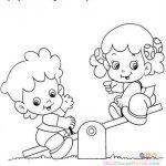 Dibujo niños jugando 1499377982