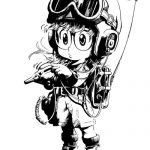 Dibujo Arale 1507037537