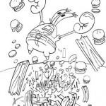 Dibujo de Don Cangrejo para Colorear