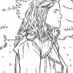 Hermione en el bosque