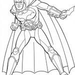 Batman con el Batarang