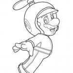 Mario Bros a punto de volar