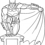 Batman y su capa