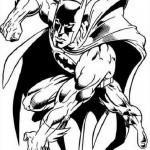 Batman en plena acción