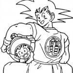 Goku y Gohan juntos