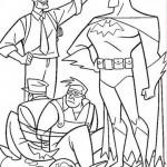 Batman atrapando a un malhechor