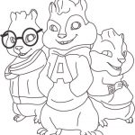 Dibujo Alvin y las ardillas 1495328370