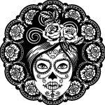 Dibujo Calaveras Mexicanas 1494417493