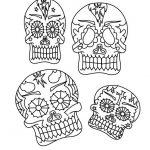 Dibujo Calaveras Mexicanas 1494417537