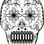 Dibujo Calaveras Mexicanas 1494417589