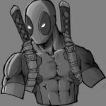 Dibujo Deadpool 1494435021