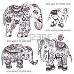 Dibujo Elefantes 1495031199