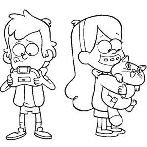 Dibujo Gravity Falls 1494433187
