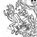 Dibujo Guardianes de la Galaxia 1494453555