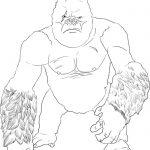 Dibujo King Kong 1494418919