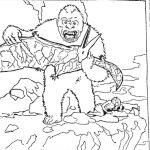 Dibujo King Kong 1494418934