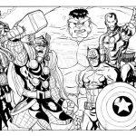 Dibujo Los Vengadores 1494368429