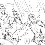 Dibujo Los Vengadores 1494368483