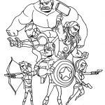 Dibujo Los Vengadores 1494368531