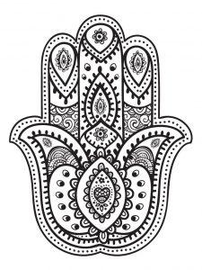 Dibujo Mano de Fátima 1494416509