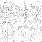 Dibujo Sword Art Online 1494427197