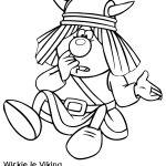 Dibujo Vicky el Vikingo 1495330758