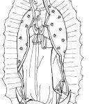 Dibujo Virgen de Guadalupe 1494433738