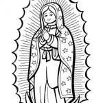 Dibujo Virgen de Guadalupe 1494433753