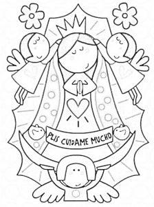 Dibujo Virgen de Guadalupe 1494433766