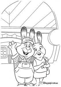 Dibujo Zootropolis 1495330812