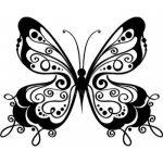 Dibujo Mariposas 1499468546