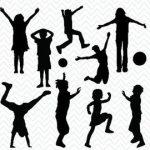Dibujo niños jugando 1499377919